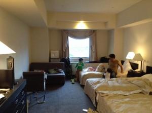 昨日はクラビーサッポロというホテルに泊まりました。広くて快適なホテル。