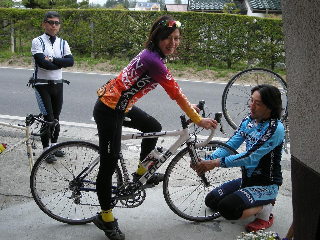 女性と自転車(GW編) | やまめ ...