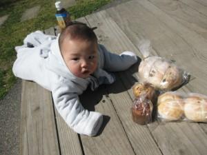 ゴローの焼いたパン