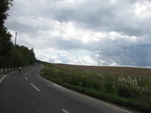 道も広く、車も少なくて自転車には最高です。
